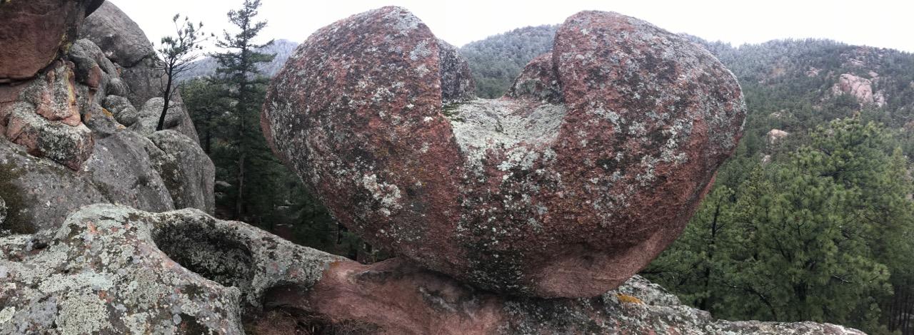 Open Heart balance rock